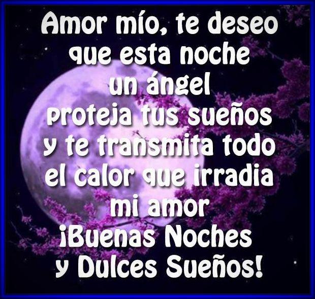 Buenas Noches Mi Amor Imagenes De Amor
